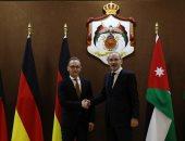 وزيرا خارجية الأردن وألمانيا يبحثان فى عمان آخر المستجدات الإقليمية