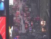 سكاى نيوز: مقتل شخص فى حادث تحطم مروحية اصطدمت بمبنى فى مانهاتن