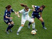 التعادل السلبى ينهى مواجهة اليابان والأرجنتين فى مونديال السيدات