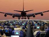 """""""مواقف وطرائف على متن الطائرات حول العالم"""".. رجل يفتح باب منفذ النجدة للحصول على الهواء المنعش.. مسافر يفتح باب الطوارئ على أنه المرحاض.. عجوز تلقى بعملات معدنية داخل المحرك لجلب الحظ"""