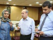 تنفيذ أول جدارية أمام جامعة كفر الشيخ وإنشاء قاعدة بيانات لتحصيل مستحقات الدولة