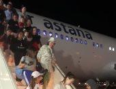 صور.. وصول أول رحلات قادمة من كازاخستان إلى مطار شرم الشيخ