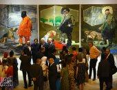 مجمع الفنون يستقبل أعمال جاروست ضيف شرف بينالى والفنان العالمى يوسف نبيل