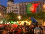 شاهد.. احتفالات الشعب البرتغالى بعد الفوز ببطولة الأمم الأوروبية