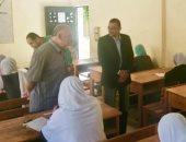 """صور.. مدير """"صحة شمال سيناء"""" يتفقد لجان امتحانات التمريض"""