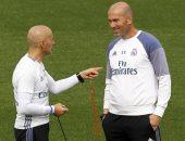 زيدان يتحدث عن مواجهة أتليتكو مدريد وإصابة أسينسيو