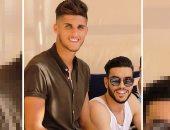 أحمد الشيخ يهنئ وليد أزارو بعيد ميلاده على إنستجرام