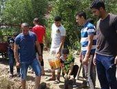 الخير فى شباب مصر.. أهالى دكرنس بالدقهلية يزرعون ألف شجرة