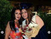 """""""أفتكر كل خطواتك من أول ولادتك"""".. هكذا هنأت رانيا يوسف ابنتها بالتخرج"""
