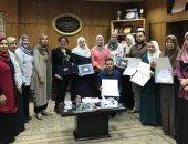 عقد 135 امتحانا إلكترونيا لطلاب بجامعة المنصورة