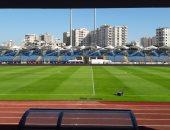 """صور.. استاد الإسكندرية جاهز لاستقبال """"الكان""""..الملعب يتزين لاستضافة 7مباريات"""