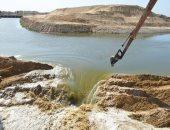 الرى: توصيل المياه لترعة الشيخ جابر ضمن خطة تعمير سيناء