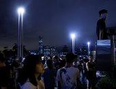 صور.. ألاف المتظاهرين يحتجون فى هونج كونج على قانون تسليم المجرمين للصين