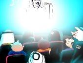كاريكاتير الصحف السعودية : محمد عبده فى موسم حفلات صيف جده