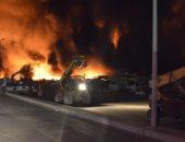 مصرع عائلة سعودية بأكملها فى حريق مآساوى بحى الفيصلية فى العاصمة الرياض