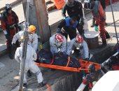 صور.. العثور على 4 جثث مع انتشال حطام سفينة غرقت فى المجر