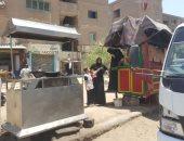 تحرير 2373 مخالفة تعد وإشغال طريق بمدينة 6 أكتوبر