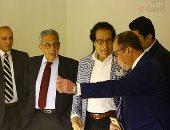 أشرف رضا: عودة بينالى القاهرة يؤكد الريادة المصرية
