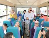 محافظة المنوفية تهدى 500 شاب رحلات مجانية احتفالا بعيدها القومى