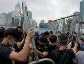 هونج كونج: الضابط مطلق الرصاص خلال الاحتجاجات كان فى حالة دفاع عن النفس