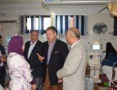 محافظ بنى سويف يتفقد مستشفى الحمًيات ويوجه بدراسة توسعة وحدة الغسيل الكلوى