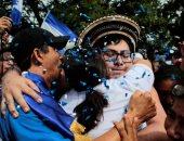 احتفالات فى شوارع نيكاراجوا لإطلاق سراح 50 معتقلا سياسيا