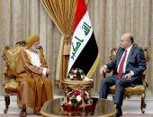 الرئيس العراقى لوزير خارجية عمان: استقرار بغداد عامل أساس لأمن المنطقة