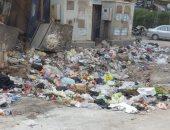 قارئ يشكو انتشار القمامة بشارع ترعة السواحل فى إمبابة
