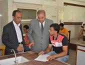 رئيس جامعة الأزهر يتفقد لجان الامتحانات بكلية الزراعة بالقاهرة
