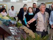 العاهل الأدرنى يفتتح المشروع الزراعى لتنمية البادية الأردنية
