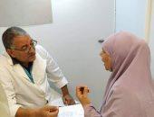 صحة الوادى الجديد تفحص وتعالج 926 شخص فى قافلة طبية مجانية بقرية ناصر