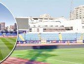 استادات الإسماعيلية والسويس والإسكندرية فى أبهى صورهم لاستضافة مباريات أمم أفريقيا