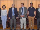 محافظ الإسكندرية يلتقى وفد فرنسى لتنفيذ مشروعات المواصلات صديقة للبيئة
