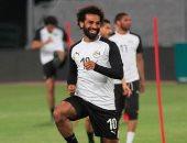 أجيرى يدفع بمحمد صلاح 15 دقيقة فقط أمام غينيا فى البروفة الأخيرة قبل الكان