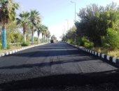 استمرار أعمال تطوير وتجميل مدينة أبوسمبل استعدادا للموسم السياحى