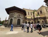 شاهد وفد منظمة اليونسكو يزور المبانى الأثرية بالقاهرة التاريخية