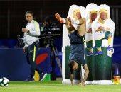 منتخب البرازيل يختتم تدريباته استعدادا لمواجهة بوليفيا فى افتتاح كوبا أميركا