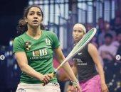 رنيم الوليلى ونادين شاهين تتأهلان لربع نهائي بطولة الصين المفتوحة للاسكواش