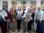 """صور.. ختام فعاليات معرض طلاب فنون جميلة الزمالك """"لا لختان الإناث"""""""
