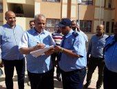 مسئولو المجتمعات العمرانية يتفقدون مدرسة قنا الثانوية للمتفوقين