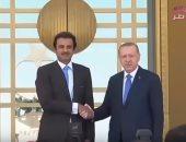 """شاهد..""""مباشر قطر"""": أردوغان يستخدم قواته فى قطر للتجسس على تحركات تميم"""