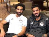 أحمد الشناوى يهنئ محمد صلاح بعيد ميلاده الـ27