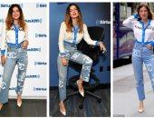 بيلا ثرون ترتدى ملابس من Chanel فى إذاعة SiriusXM.. اعرف سعرها