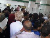 شكوى من تكدس المواطنين فى مكتب بريد العامرية بالأسكندرية