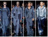 """عرض أزياء """"جورجيو أرمانى"""" للرجال يتحول إلى صالة للألعاب الأولمبية"""