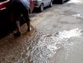 واقعة إهدار المياه بحدائق الأهرام أصبحت ممنهجة
