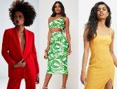 من الأصفر للأخضر والأحمر.. تعرف على ألوان الموضة فى صيف 2019