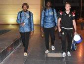 منتخب غينيا يصل القاهرة للمشاركة في كأس الأمم الافريقية.. صور