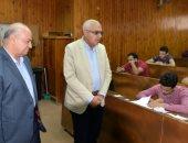 صور.. رئيس جامعة المنصورة يتفقد الامتحانات بكليات التجارة والحاسبات والحقوق