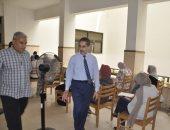 رئيس جامعة القناة: توفير كافة الخدمات الطبية للطلاب داخل لجان الإمتحانات